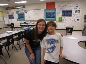 Cam and Ms. Stine