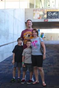 Our family visits the AZ Science Center