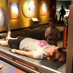 Heather on a bed of nails.
