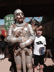 Carsten with knight