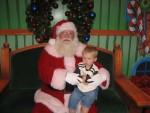 Carsten with Santa