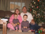 Our family on Christmas morning!