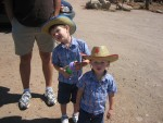 Our little Cowboys!