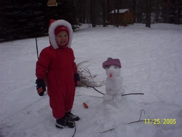 Camden's snowman II
