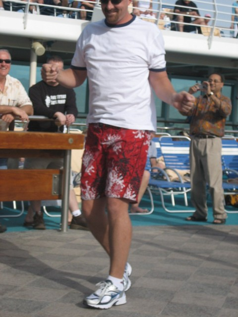 Mark strutting his stuff
