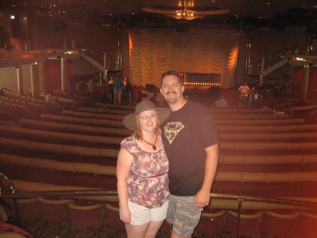 Mark & Heather before bingo