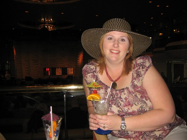 Heather at bingo