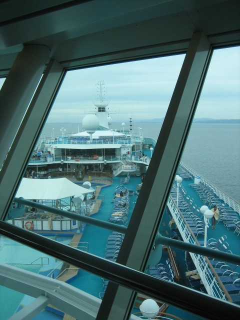 View from the Viking Lounge III