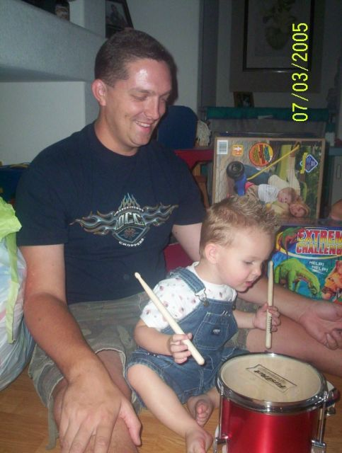 playing drums with dad.jpg