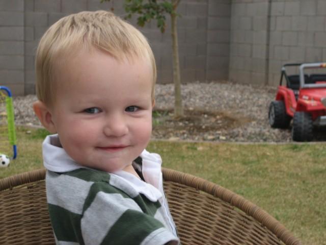 Carsten looking cute!