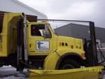 We got to visit and get in a big snowplow!  Thanks Uncle Henry!