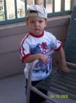 Cool dude getting ready to play at LegoLand