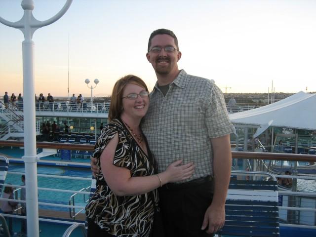 Before embarking on cruise