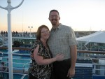 Before embarking on cruise